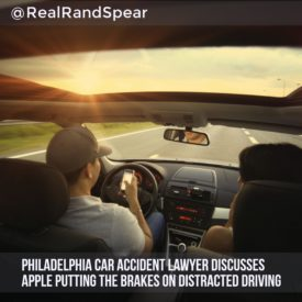 Car Accident Lawyer Discusses Apple Putting The Brakes On Distracted Driving