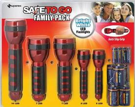BJ's Wholesale Club Recalls LED Flashlight Set for Fire/Burn Hazards