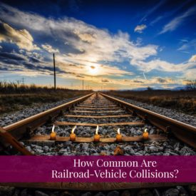 Train Accident Lawyer Gives Safety Tips For Railroad Crossings